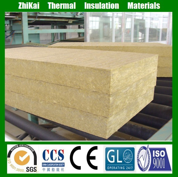 Rock Wool Acoustic Wall Panel Mineral Wool Insulation