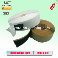 Single sided Butyl Tape/Cured Butyl Rubber Tape Mastic Tape