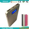 portable mobile power bank 5000mah with free antivirus downl with digital LCD display/ metal matt finishing