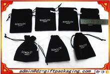 Cheap Wholesale Velvet Jewelry Pouch / Velvet Drawstring Bag