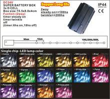 taiwan single battery operated mini led decorative lights