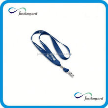 Customized promotional tapout lanyards with single clasp