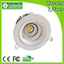 10-50W 3 Colors in one fitting LED Dimmable LED Downlight