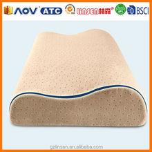 LinSen comfortable pillow for children, bamboo-charcoal memory pillow