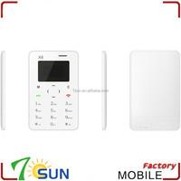 2015 x6 chinese dual sim card mini mobile phone