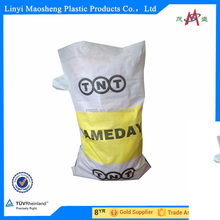 raw material carrefour pp woven bag from china factory