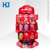 Fashion design and large capacity balloon display stand,cardboard hooks display for ballon