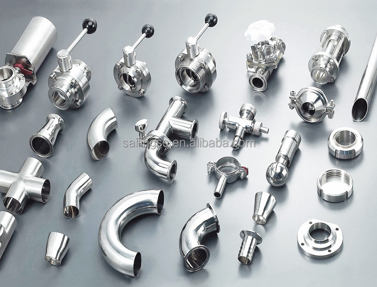 Dairy Pipe Fittings Dairy Pipe Fittings Stainless