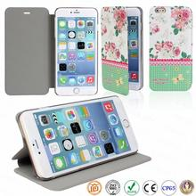 5.5 inch wholesale leather mobile cell phone case for iphone 6 plus