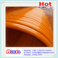 """weat resisting 5"""" concrete pump elbow/bend for Sany concrete pump parts"""
