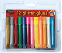 Kid crafts school stationery safety glitter glue