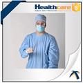Sala de operação vestido, Descartável cirurgia estéril vestido