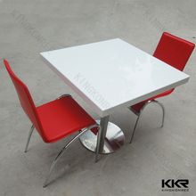 hot pot table restaurant , modern conference room table , solid surface bar counter