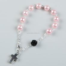 Pearl bracelet religious gift