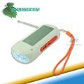 Portable Radio FM con luz de emergencia Solar