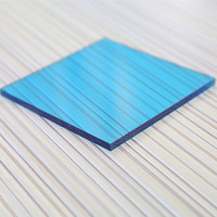 9mm UV blocked hollow polycarbonate panel for carport roofing