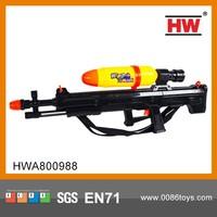 Hot Selling Single Nozzle Black Plastic Water Gun