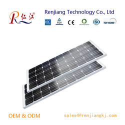 Renjiang Reliable Monocrystalline Solar Cell Pv Panel 150W With Competitive Price