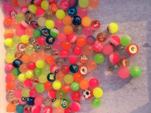 New design EVA bouncing ball colorful high bouncing ball rubber bouncing ball