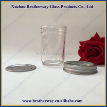 8oz mason jar with stainless steel cap