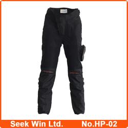 Hot Sale Black Motocycle Trousers Polyester Moto Bike Pant Men Kevlar Motorcycle Pants HP-02