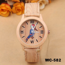2015 charming natural wholesale cheap wood watch vogue wrist watch for men and women