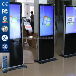 """42"""" 55"""" 65"""" Free-stand Digital Signage,Lcd Advertising Kiosk,Multimedia Touch Kiosk"""