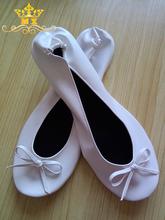 Wedding ballerina popular wedding favor Roll up party shoes