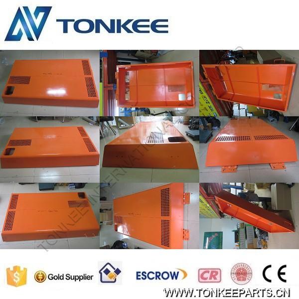 excavator EX200-1 engine cover Bonnet panel engine hood insulation cover for HITACHI (3)1.jpg