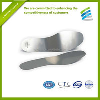 Metal insoles for shoes