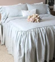 100% linen bedsheet flat sheet duvet cover pillowcase bed cover
