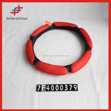 Red Color,Brighter color,Good Quality Steering Wheel Cover!!!