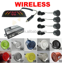 Wireless LED Display Car 4 Parking sensor auto Assistance System Reversing Backup Radar