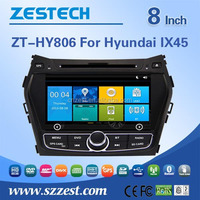 Big discount in dash dvd player for Hyundai IX45 with WIFI 3G USB/SD Support IPOD SWC BT GPS DVD FM/AM EQ Rearview Camera