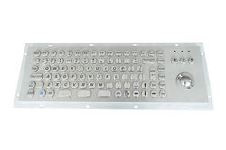 Waterproof and Dustproof Kiosk IP65 PC Stainless Steel Metal Keyboard