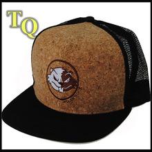 custom 6panelmesh cap/ flat brim trucker cap / mesh snap back cap