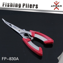 """6"""" Fishing plier, hook remover, Multi function outdoor tool with plastic sheath"""