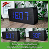 2015 Digital Led Click Black Clock For Hotel Decoration