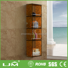 Water-resistant transparent colorful poster display case