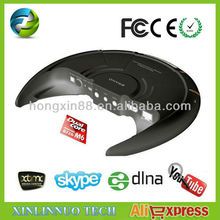 Best Dual Core Android 4.1 Smart TV Box Media Player,DDR3 1G Nand Flash 4G XBMCFull HD 1080P Playback Smat TV Box