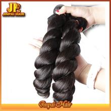 Hot Selling No Short Hair Virgin Human Double Drawn Filipino Hair