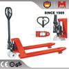 Heami 6 wheel Tandem pu nylon wheel hand truck hydraulic manual pallet truck