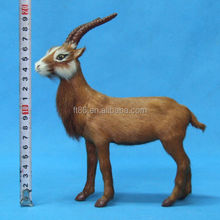popular gift 2014 very vivid folk art furry small toy sheep