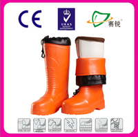 CE winters warm fur lining safety boots low environment working boots