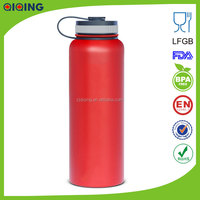 Red 40oz(1.18L)hot new products for 2015 Stainless Steel sports water bottles HD-103D-3