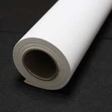 350mic matte waterproof 270gsm polyester inkjet canvas for pigment inks, dye ink