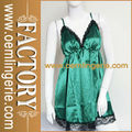 green plus size babydoll sexy lingerie para mulheres gordas