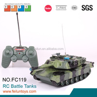 2015 new product military combat model toy infrared rc tank