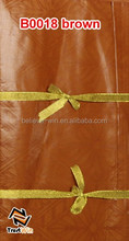 High quality 10 yards textiles fabric cotton guinea brocade fabric jacquard B0018 brown