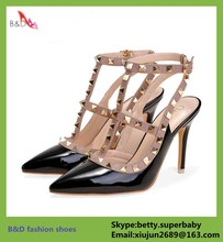 BD30 hot new products for 2015 latest hot high heel sexy sandals heels shoe for women